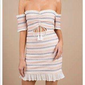 Tobi Dresses - TOBI Nia Off The Shoulder Bodycon Dress